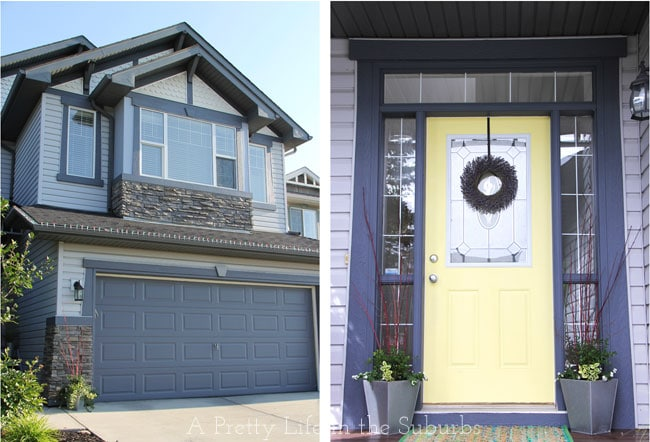 Garage-Door-&-Front-Door-Projects-{A-Pretty-Life}