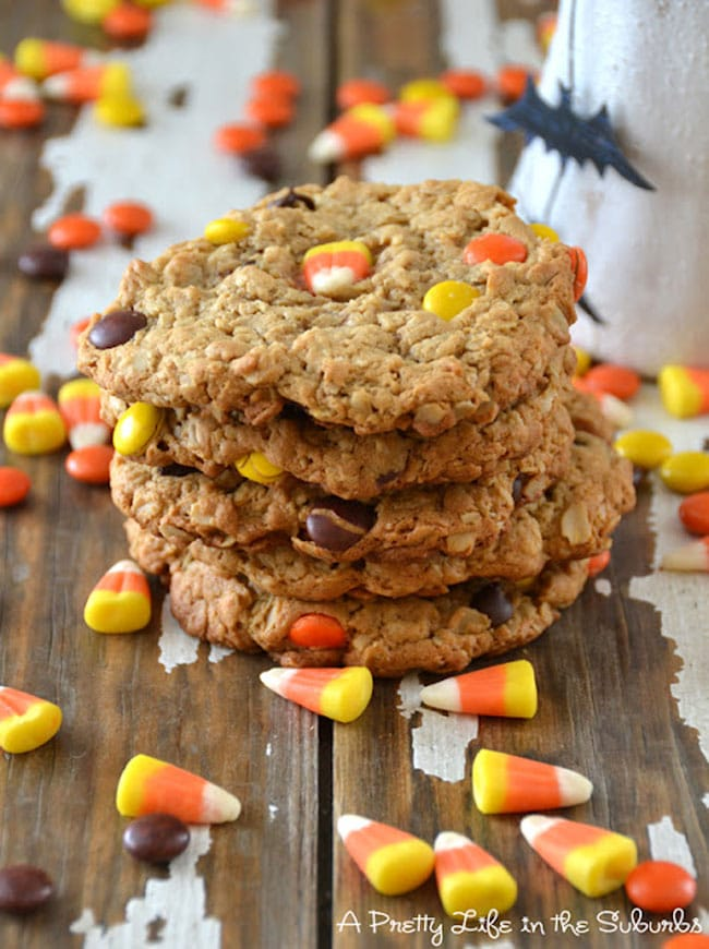 Spooky Halloween Food Ideas: Monster Cookies