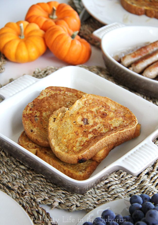 Pumpkin-Spice-French-Toast-2{A-Pretty-Life}