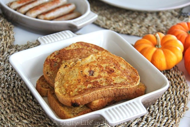 Pumpkin-Spice-French-Toast-3{A-Pretty-Life}