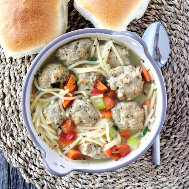 Naheed-Nenshi's-Turkey-Meatball-Soup-{A-Pretty-Life}