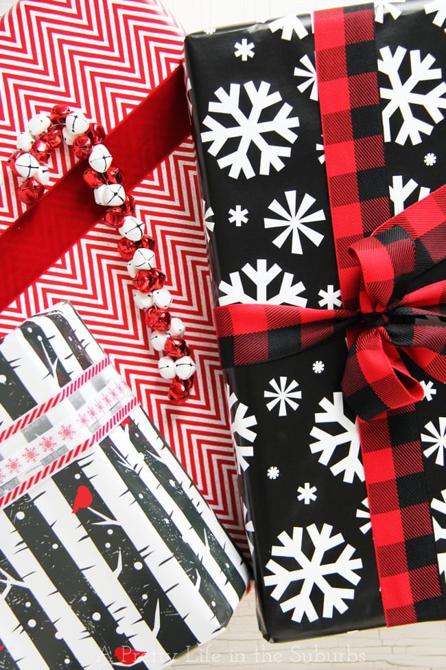 Creative Gift Wrapping Ideas a{A Pretty Life}