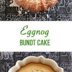 Eggnog Bundt Cake Recipe