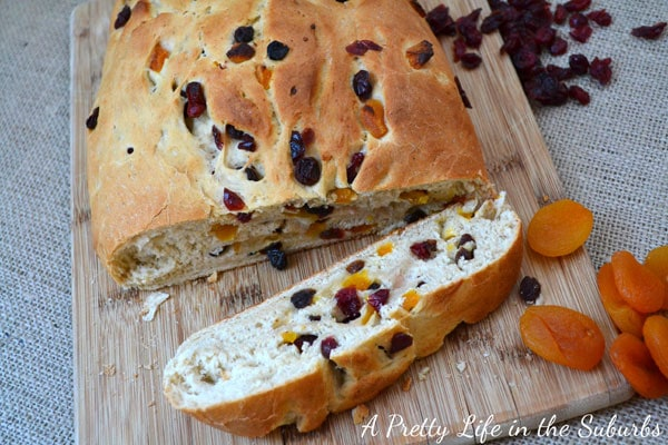 Fruit & Berry Christmas Bread