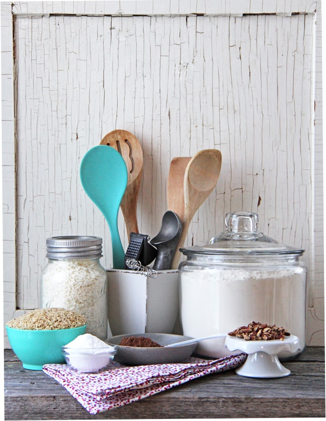 Building A Baking Pantry {A Pretty Life}