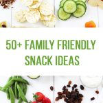 50+ Family Friendly Snack Ideas