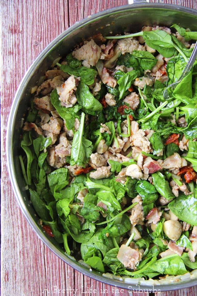 Chicken & Spinach Noodle Bake4