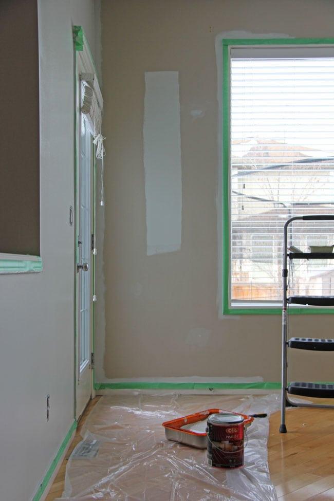 Main Floor Paint Make Over - BEFORE