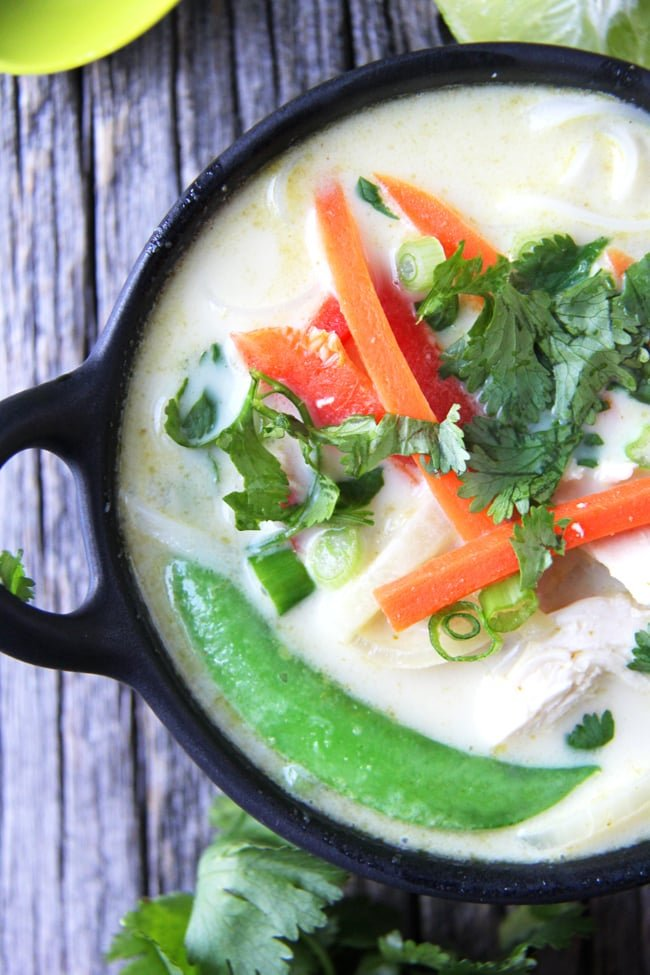 Coconut Curry Noodle Soup - A Pretty Life In The Suburbs