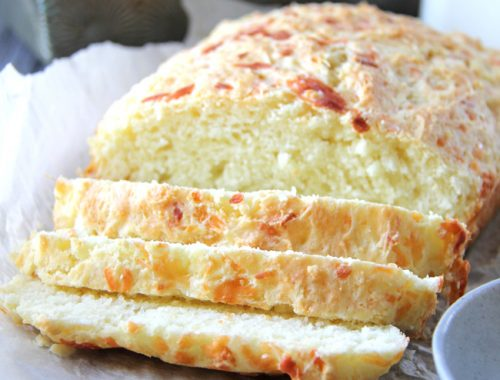 Mozzarell and Parmesan Buttermilk Quickbread Feature