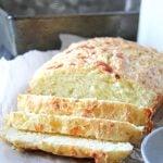 Mozzarella Parmesan Buttermilk Quick Bread