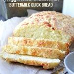 Mozzarella and Parmesan Buttermilk Quickbread
