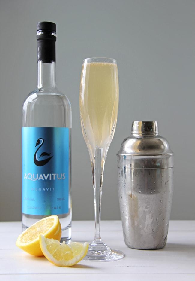 Summer Drinks: Aquavit Sparkler