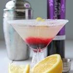 Summer Drinks: Blackcurrant Lemon Drop Drink