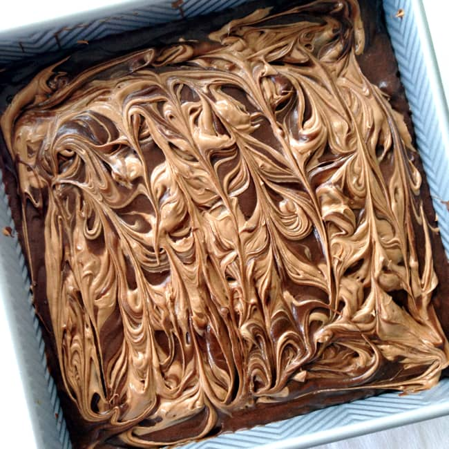 Chocolate Cream Cheese Swirl Brownies