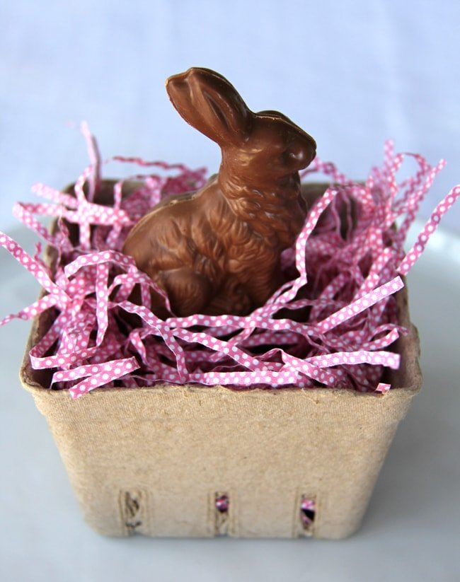 Chocolate Easter Bunny Place Setting 3aa