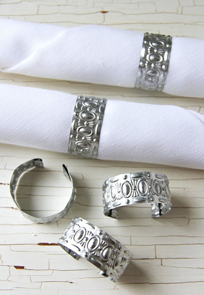 Ribbon Napkin Rings Diy