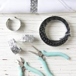Easy DIY Tin Napkin Rings Tutorial