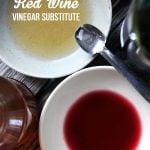 Red Wine Vinegar Substitute