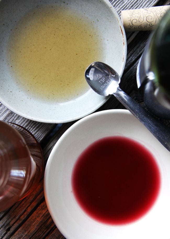 Red Wine Vinegar Substitute  {A Pretty Life}