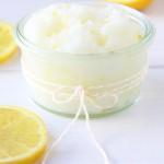 Lemon Sugar Scrub  2{A Pretty Life}