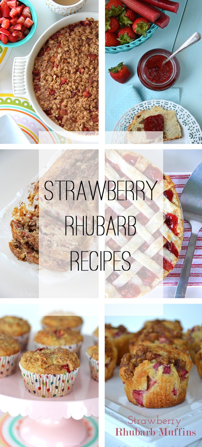 Strawberry Rhubarb Recipes  {A Pretty Life)_edited-1