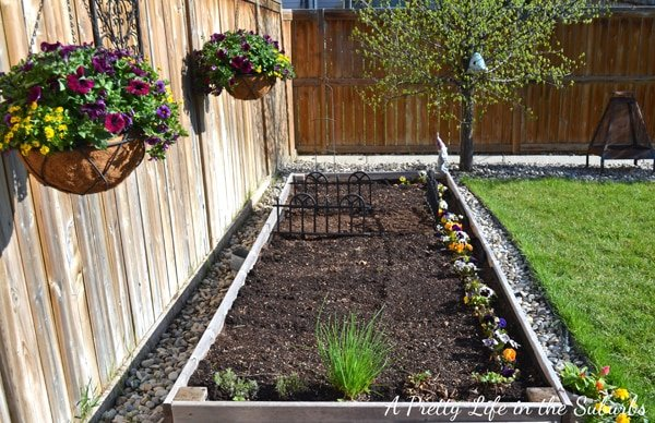 Counter Height Vegetable Garden : Vegetable Gardening in Raised Beds & Containers ? A Pretty Life In ...
