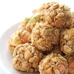 Peanut Butter Confetti Snack Bites