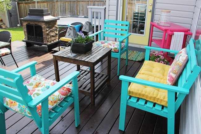 Summer Patio  3{A Pretty Life}