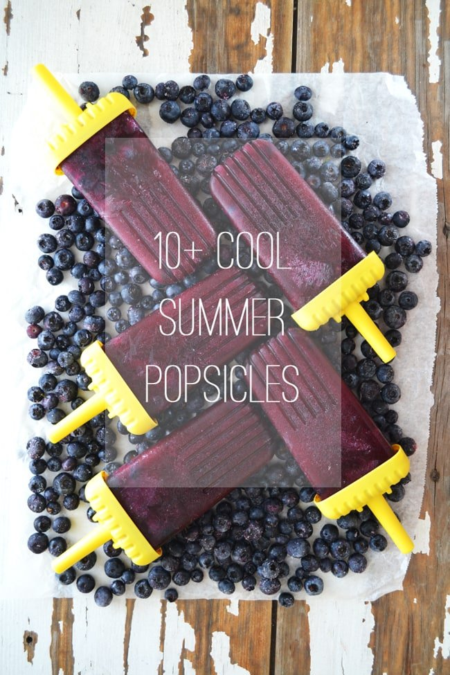 10+ Cool Summer Popsicles {A Pretty Life}