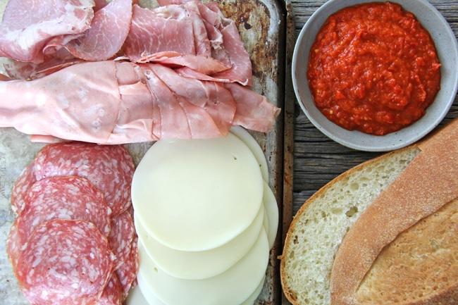 Easy Italian Sandwich 2
