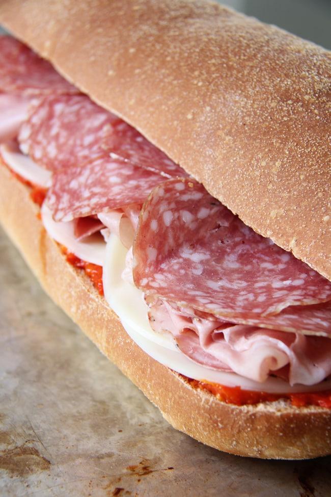 Easy Italian Sandwich 3