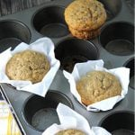The Easiest Banana Muffins