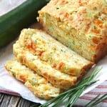 Zucchini, Cheddar & Chive Buttermilk Quick Bread
