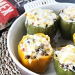 Cheesy Mexican Stuffed Peppers Recipe