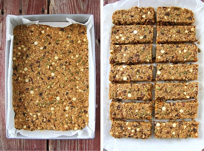 Hearty Pumpkin Pie Granola Bars 2{A Pretty Life}