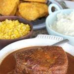 Slow Cooker Roast Beef and Gravy