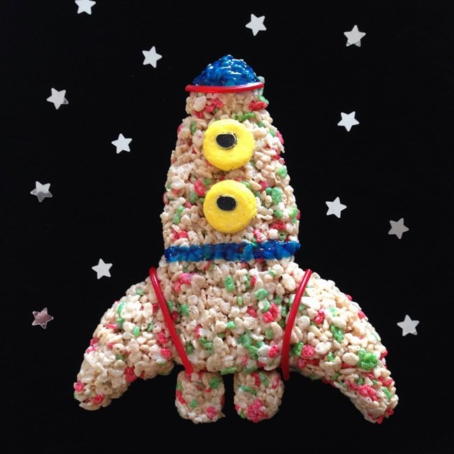 Rice Krispies Rocket: Treats For Toys