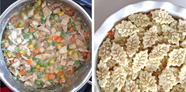 Turkey Pot Pie 2 {A Pretty Life}