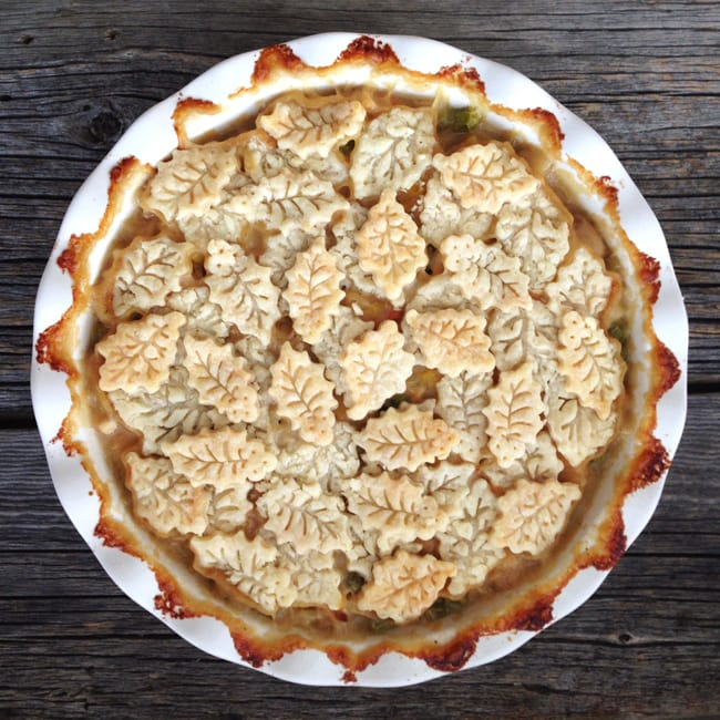 Turkey Pot Pie, shared by A Pretty Life