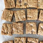 Chocolate Chip Cookie Bars  3{A Pretty Life}