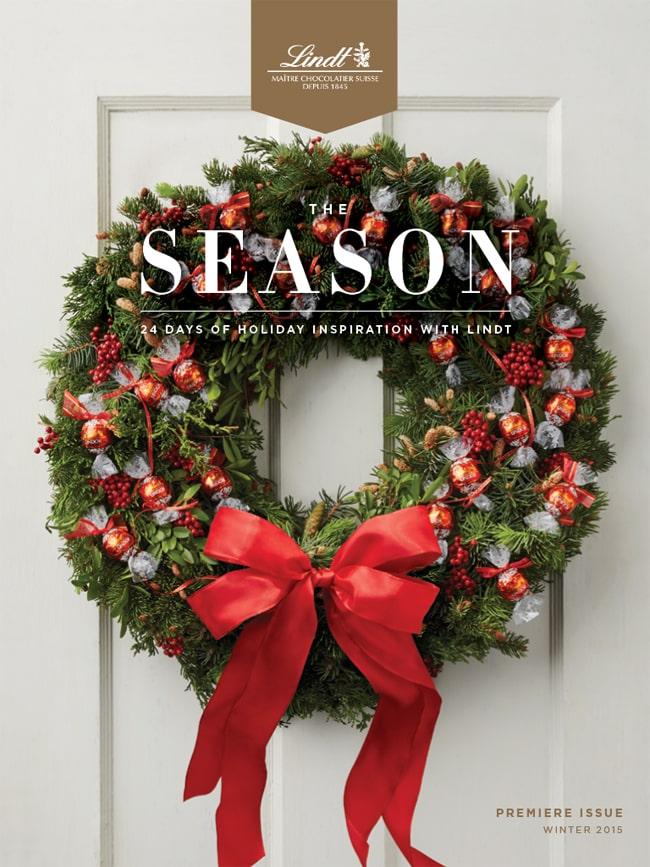 Lindt Christmas Magazine
