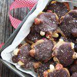 Chocolate Caramel Nut Clusters