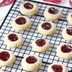 Christmas Thumbprint Cookies Recipe