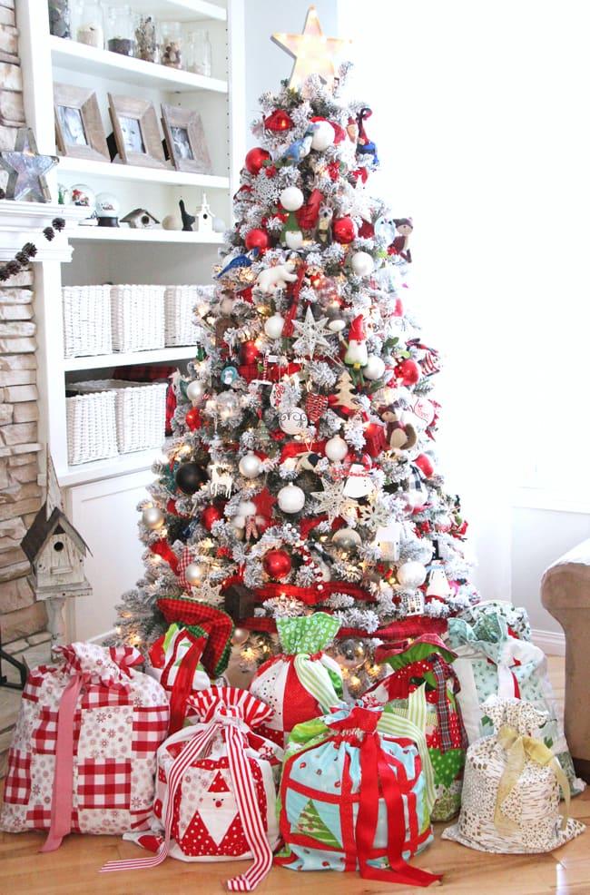 Christmas Wrapping Bags
