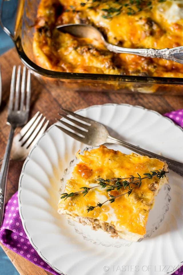 Sourdough Breakfast Egg Casserole Recipe