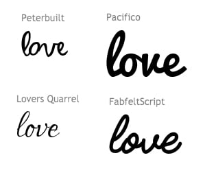String Art Fonts