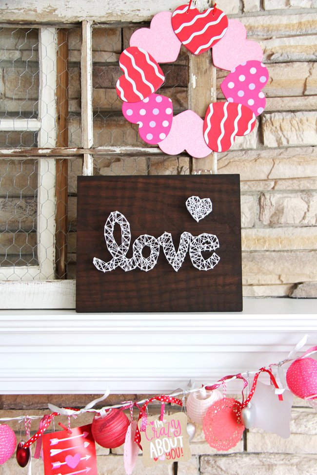 Valentines Day String Art