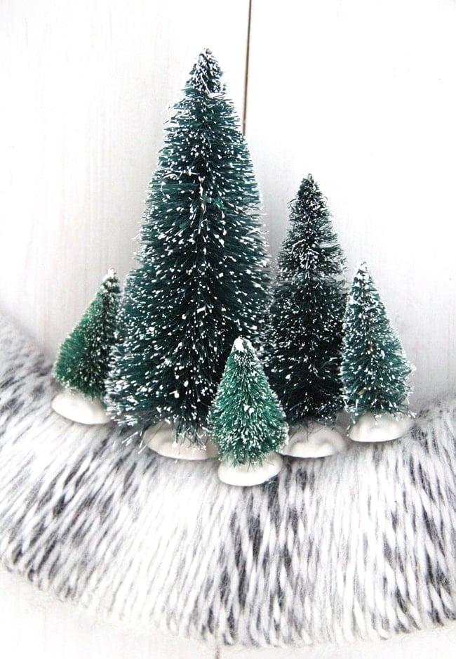 Winter Yarn Wreath {A Pretty Life}2