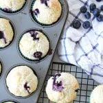 Blueberry Buttermilk Muffin Recipe